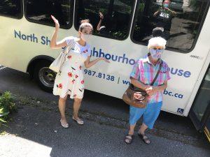 Sarina and Wilhelmina – NSNH bus