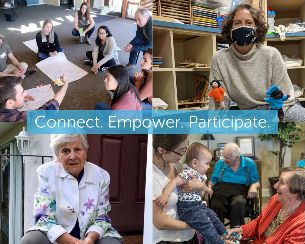 images of staff, clients, community engaging in NSCR activities